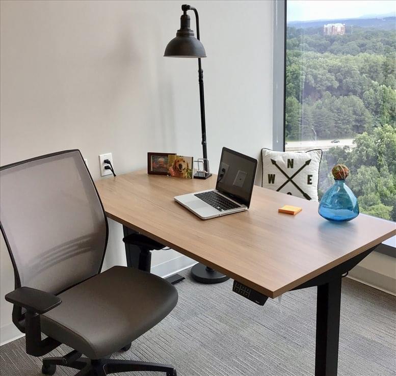 Three Alliance Center, 3550 Lenox Road NE, North Buckhead Office for Rent in Atlanta