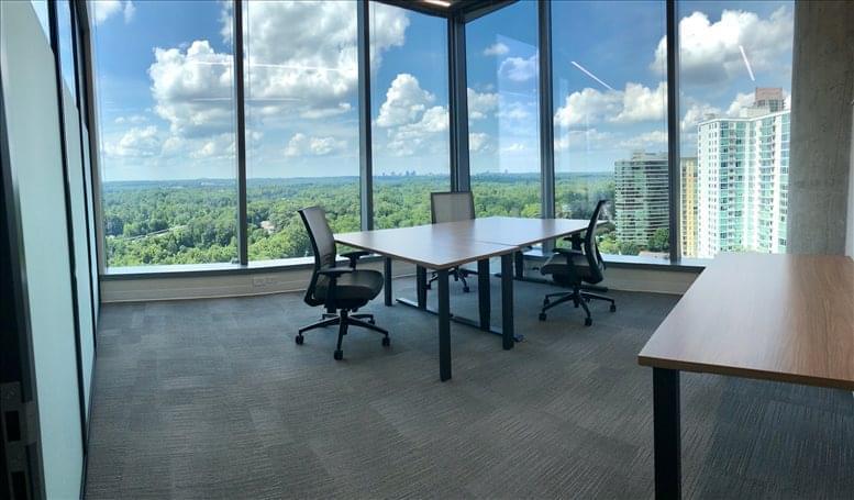 Picture of Three Alliance Center, 3550 Lenox Road NE, North Buckhead Office Space available in Atlanta