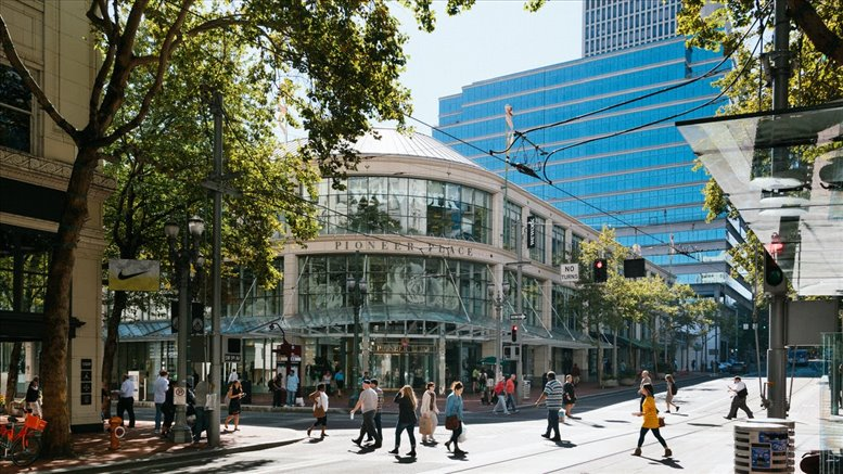 Pioneer Place available for companies in Portland