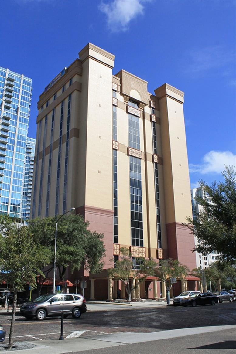 GTE Financial Building, 601 N Ashley Dr, River Arts District, CBD Office Space - Tampa