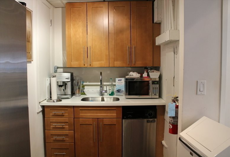 This is a photo of the office space available to rent on 989 6th Ave, Garment District, Midtown