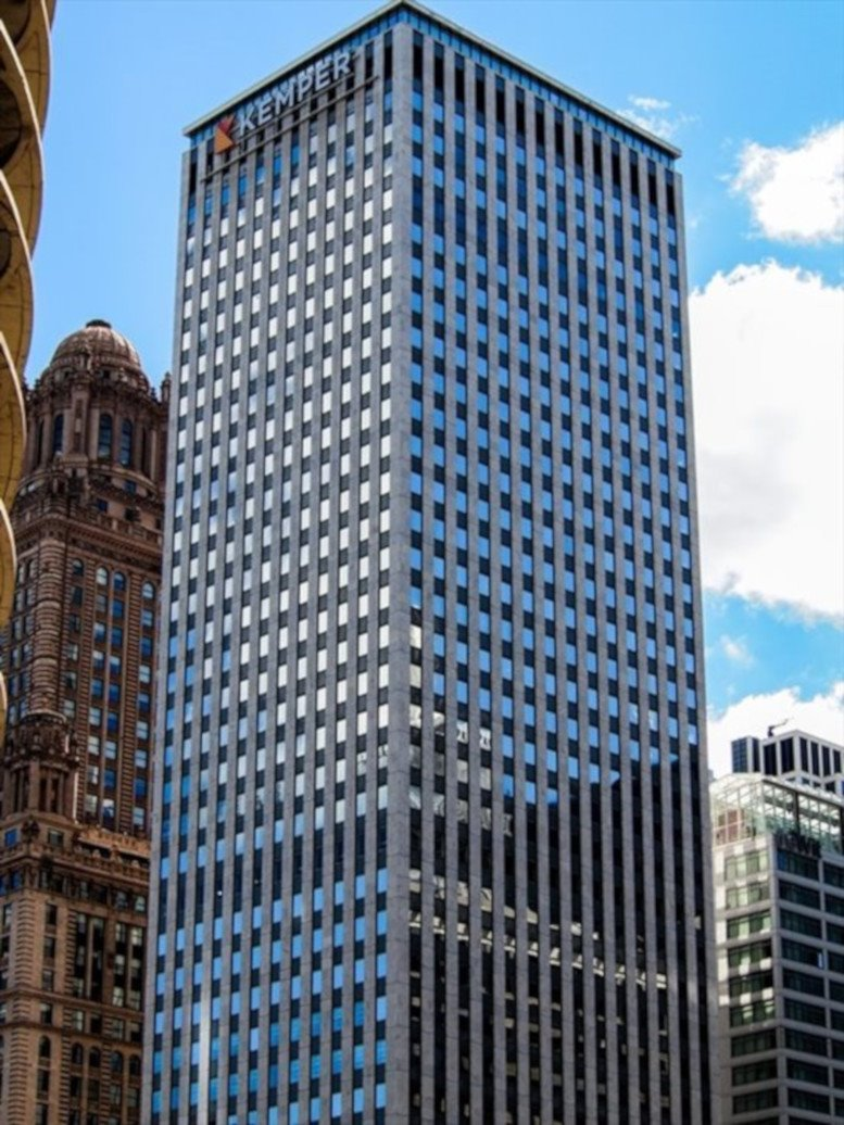 One East Wacker Drive/Kemper Building available for companies in Chicago Loop