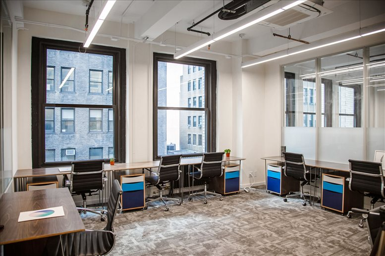 This is a photo of the office space available to rent on 251 W 30th St, Chelsea