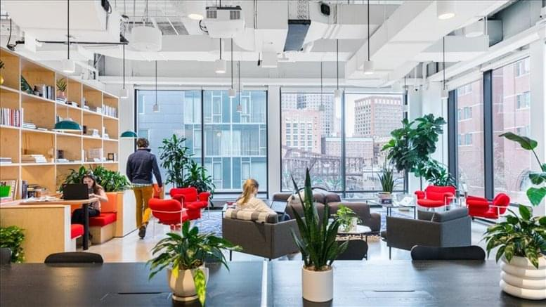 This is a photo of the office space available to rent on 77 Sleeper Street