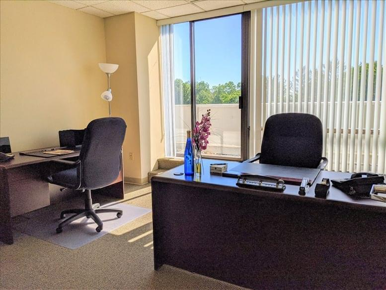 This is a photo of the office space available to rent on 1800 Alexander Bell Dr, Reston