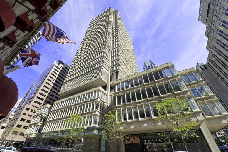 State Street Bank Building, 26th Fl, 225 Franklin St Office Space - Boston