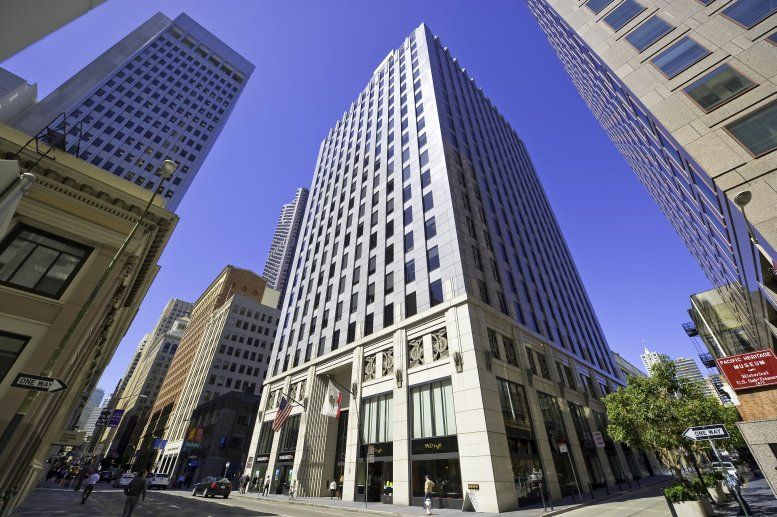 505 Montgomery Street, Suite 1000/1100 Office Space - San Francisco
