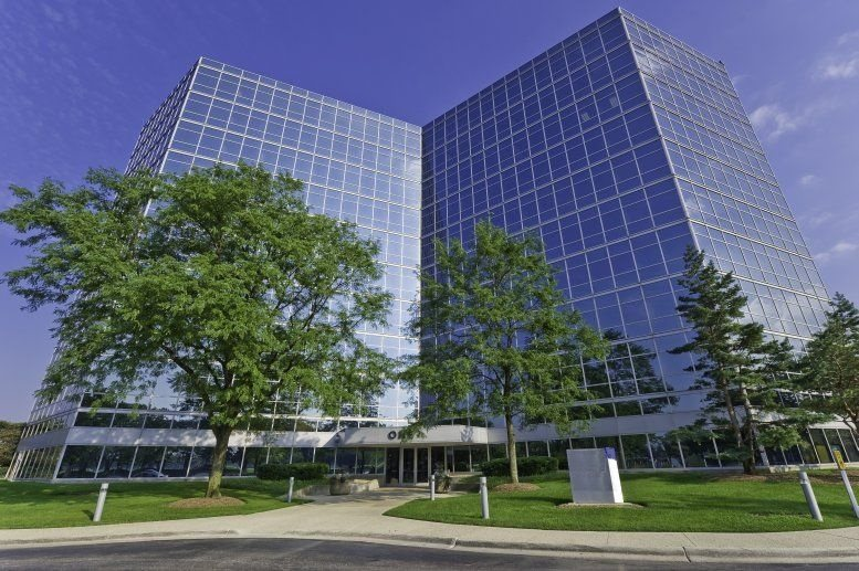 One Westbrook Corporate Center available for companies in Westchester